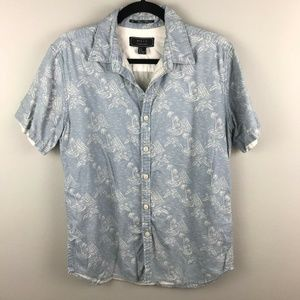 21 Men An American Brand Hawaiian Shirt M